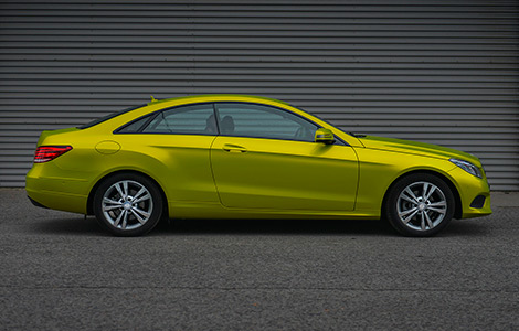 Mercedes E-coupe
